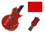 Guitar Hero 3 Les Paul Guitar for the Nintendo Wii Skin :: Red