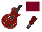 Guitar Hero 3 Les Paul Guitar for the Nintendo Wii Skin :: Burgundy