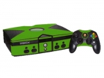 Microsoft Xbox Skin :: Yellow Green