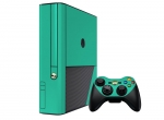 Microsoft Xbox 360 (3rd Gen) Skin :: Turquoise