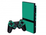 Sony PlayStation 2 Slim Skin :: Turquoise