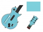 Guitar Hero 3 Les Paul Guitar for the Nintendo Wii Skin :: Ice Blue