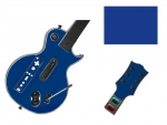 Guitar Hero 3 Les Paul Guitar for the Nintendo Wii Skin :: Blue