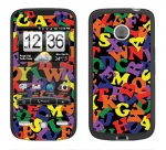 HTC Droid Eris Skin :: Alphabet Soup