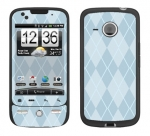 HTC Droid Eris Skin :: Argyle Blue