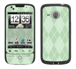 HTC Droid Eris Skin :: Argyle Green