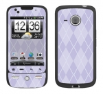 HTC Droid Eris Skin :: Argyle Purple