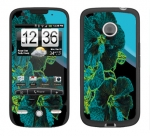 HTC Droid Eris Skin :: Cosmic Flowers 2