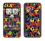 HTC Droid Incredible Skin :: Alphabet Soup
