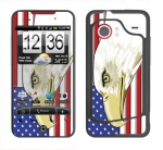 HTC Droid Incredible Skin :: American Flag 3