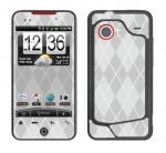 HTC Droid Incredible Skin :: Argyle Gray