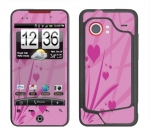 HTC Droid Incredible Skin :: Floating Hearts