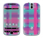 HTC myTouch 3G Slide Skin :: Candy Shop Plaid