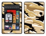 Amazon Kindle Fire Skin :: Camo Desert