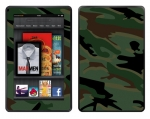 Amazon Kindle Fire Skin :: Camo Green