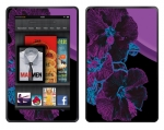 Amazon Kindle Fire Skin :: Cosmic Flowers 1