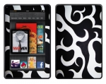 Amazon Kindle Fire Skin :: Curly Contours