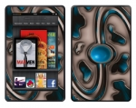 Amazon Kindle Fire Skin :: Cynic Blue