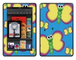 Amazon Kindle Fire Skin :: Digital Butterfly