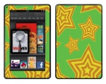 Amazon Kindle Fire Skin :: Falling Stars