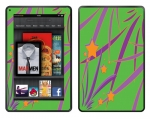 Amazon Kindle Fire Skin :: Floating Stars