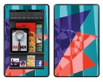 Amazon Kindle Fire Skin :: Geometric Blast