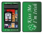 Amazon Kindle Fire Skin :: Kiss Me Irish