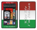Amazon Kindle Fire Skin :: Kiss Me Italian