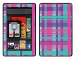 Amazon Kindle Fire Skin :: Candy Shop Plaid