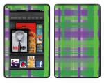 Amazon Kindle Fire Skin :: Punk Rock Plaid