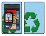 Amazon Kindle Fire Skin :: Recycle