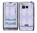 LG Dare Skin :: Argyle Purple
