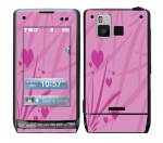 LG Dare Skin :: Floating Hearts
