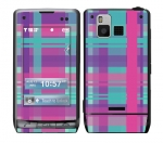 LG Dare Skin :: Candy Shop Plaid