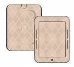 Barnes & Noble Nook Touch Skin :: Argyle Tan