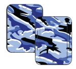 Barnes & Noble Nook Touch Skin :: Camo Blue