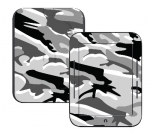 Barnes & Noble Nook Touch Skin :: Camo Snow