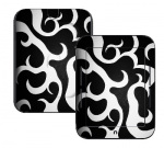 Barnes & Noble Nook Touch Skin :: Curly Contours