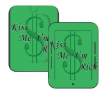 Barnes & Noble Nook Touch Skin :: Kiss Me Rich